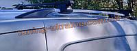 Рейлинги на крышу алюминиевые концевики ABS  для Opel Vivaro 2002-2014