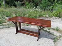 Стіл для дачі, садовий, дачний, для саду, дерев'яний, купити, садові меблі