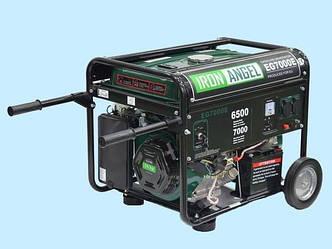 Генератор IRON ANGEL EG 7000 E (бензин)