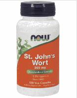 Зверобой экстракт, Now Foods, St. John's Wort, 300mg, 100 vcaps