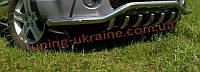 Защита переднего бампера дуга D60 на Renault Duster 2010-2018