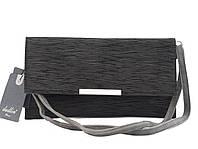 Сумка женская черного цвета, клатч, одно отделение