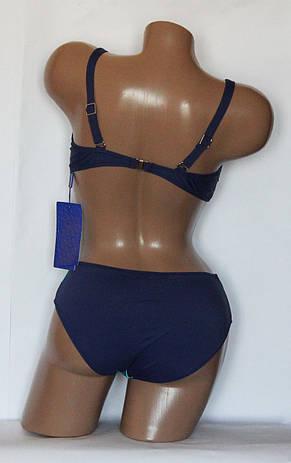 Роздільний ефектний жіночий купальник з зебровым принтом, фото 2