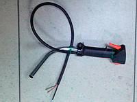 Ручка газа для мотокосы в сборе с трубкой, фото 2