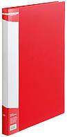 Папка А4 с боковым прижимом, красный