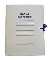 Папка на завязках (BUROMAX, А4, картон 0,35мм, клееный клапан, BM.3356)