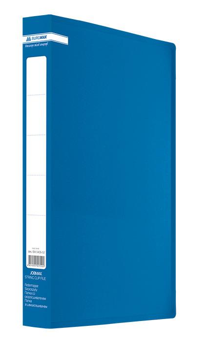Папка пласт с 2-мя кольцами А4 25мм Jobmax синий