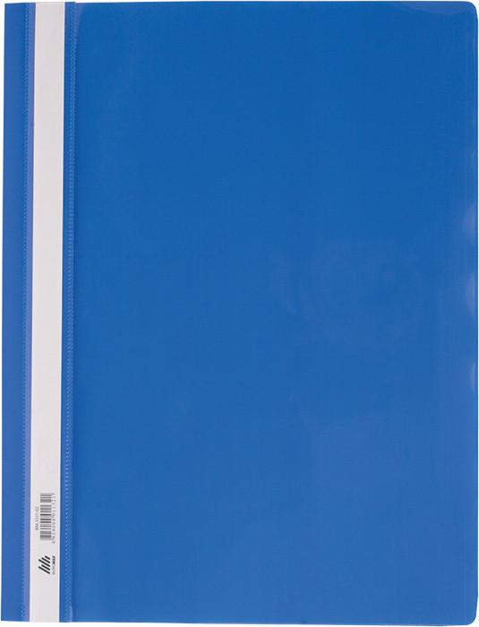 Скоросшиватель Buromax А4 синий усы, PP (BM.3311-02)