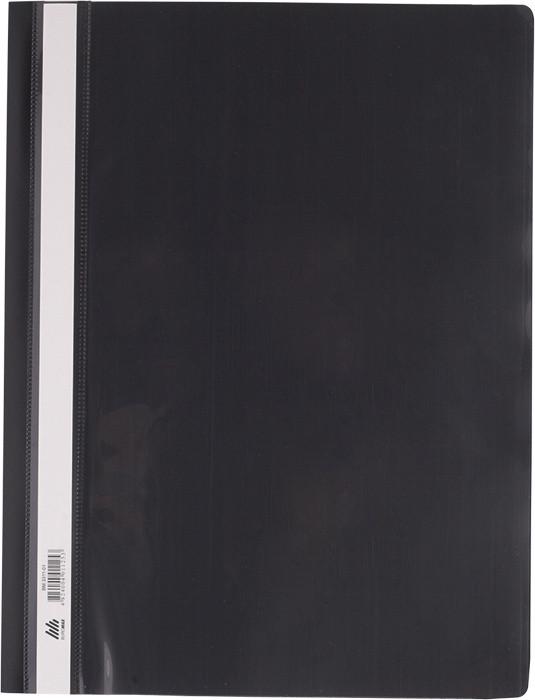 Скоросшиватель Buromax А4 черный усы, PP (BM.3311-01)