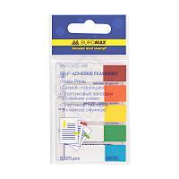 Закладки Buromax пластиковые NEON 45x12мм 5х20 листов ассорти BM.2305-98