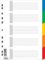 Цифровой индекс - разделитель А4, 5 поз., цветн., с листом описи