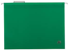 Подвесной файл А4 пластиковый зеленый