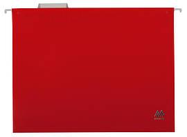 Файл підвісний А4 пластиковий червоний