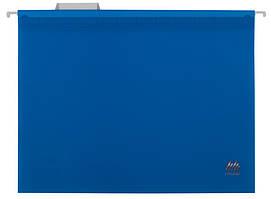 Файл підвісний А4 пластиковий синій