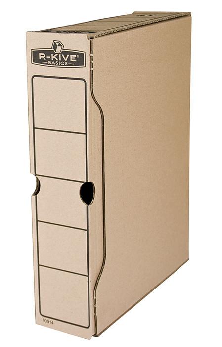 Бокс архивный Fellowes 80 мм для архивации коричневый (f.91402)