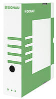 Бокс для архивации докум., 80мм, зелен.