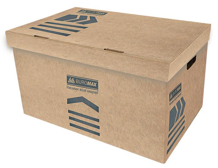 Короб для архивных боксов Buromax крафт Jobmax (BM.3270-34)