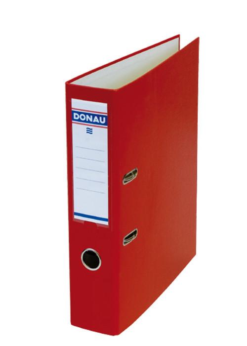 Регистратор 7 см Donau PP А4 односторонняя красный MASTER (3970001M-04)