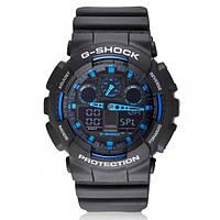 Часы Сasio G-Shock Black Blue 2 реплика