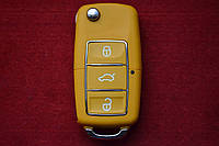 Kлюч Seat ibiza, leon, cordoba выкидной 3 кнопки Влагонепроницаемый