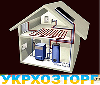 Отопление современных жилых и промышленных  помещений.