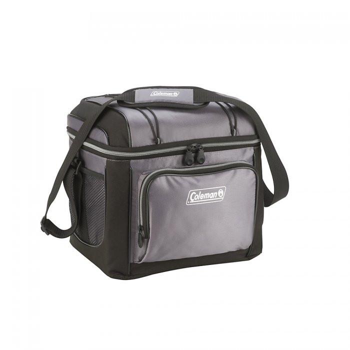 Термосумка Coleman 24 Can Cooler Grey на 18.9 л (сумка-холодильник, ізотермічна сумка)