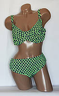 Раздельный женский купальник с большой чашкой, р 48, 50