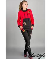 Стильный спортивный костюм Драйв (красный), фото 1