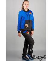 Модный спортивный костюм Драйв (электрик)