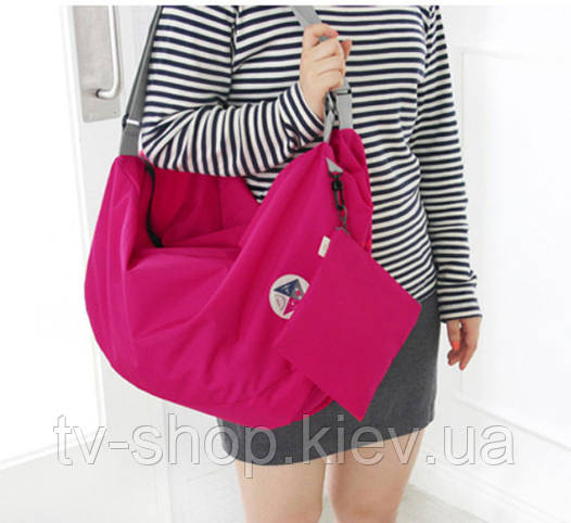 Сумка-рюкзак Компакт (розовая)