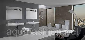 Ванная комната в стиле Hi-Tech