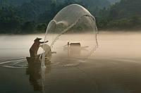"""Рыболовная сеть - парашют из нити, кастинговая сеть """"испанского типа"""", из капроновой нити , испанка, купить"""