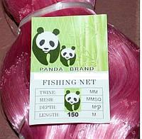 Сетевое полотно (леска), Сетеполотно Панда, ячейка 50 х 55 мм, 150 м, изготовление рыболовных сетей, для рыбалки, снасти