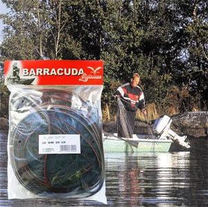 Сеть рыболовная, лесковая сеть финка Barracuda, оригинал.