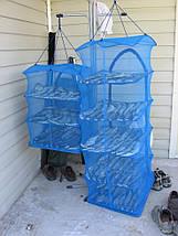 Сушилки, делаем таранку, сушилка для рыбы, для сухофруктов, грибов, 5 полок, 45 х 45 х 100 см, фото 3