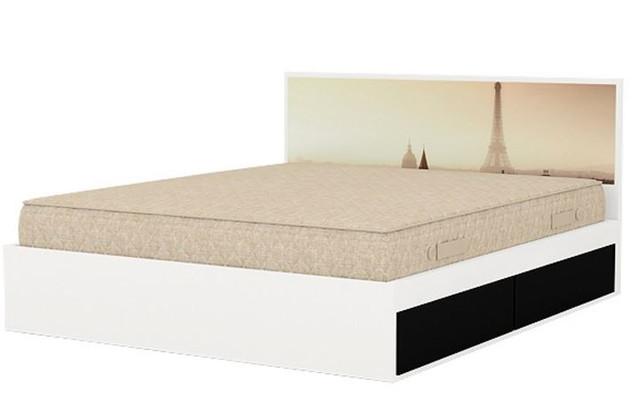 Кровать двуспальная Париж