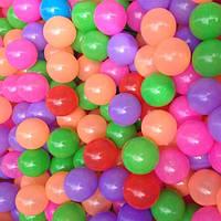 Шарики пластиковые разноцветные детские для игр 20 шт
