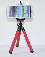 Держатель(штатив) для фотоаппарата(смартофона) осьминог Red