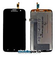 Оригинальный  Дисплей (Модуль) + Сенсор (Тачскрин) для Lenovo A859 (Черный)