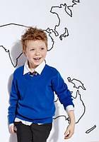 Школьный джемпер синий на мальчика 10-11-12-13-14 лет Cobalt Blue George (Aнглия)