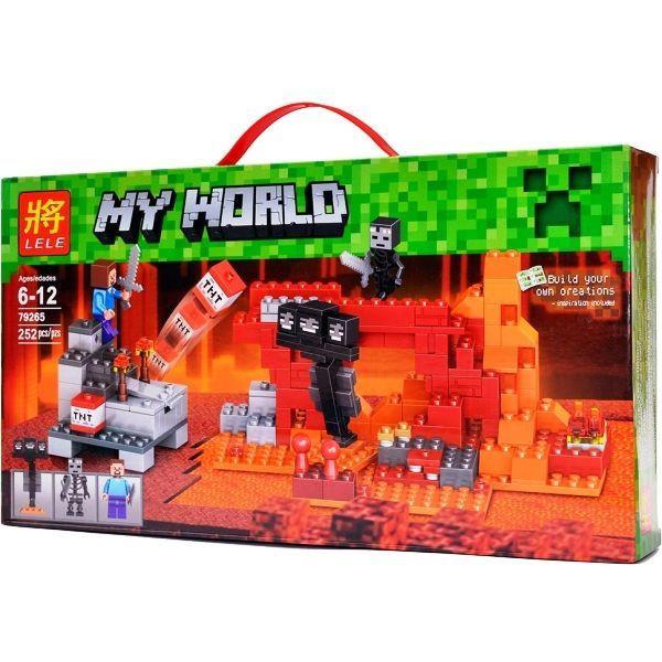"""Конструктор Lele 79265 Minecraft """"Иссушитель"""", (аналог Lego 21126), 252 дет"""