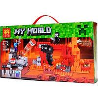 """Конструктор Lele 79265 Minecraft """"Иссушитель"""", (аналог Lego 21126), 252 дет , фото 1"""