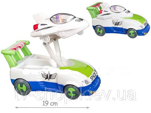 """Машинка с самолетиком( свет.муз.) """"Toy story 3"""""""