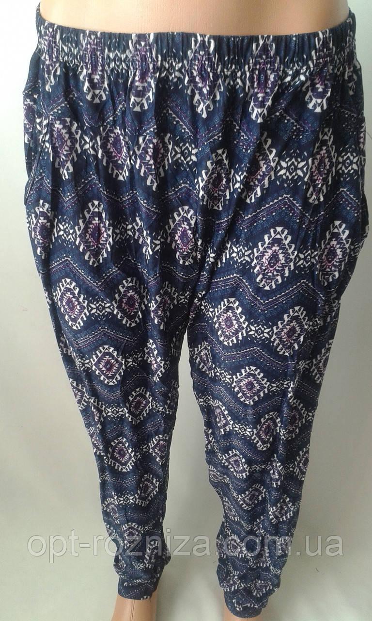 Женские легкие штанишки большого размера