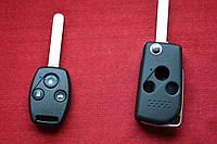 Выкидной ключ HONDA для переделки на 3 кнопки вид Toyo