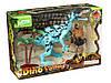 Набор фигурок Динозавр и аквалангист Dino-valley