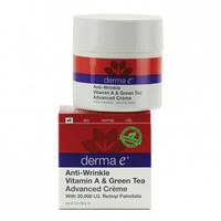 Крем с витамином А и экстрактом зеленого чая против морщин *Derma E (США)*