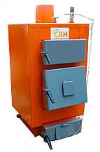 САН Эко-У 10 (Усиленный сталь 4мм) твердотопливный котел мощностью 10 кВт