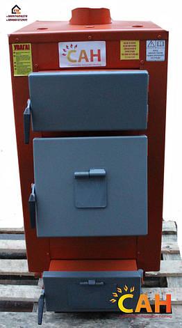 САН Эко-У 13 (Усиленный сталь 4мм) котел длительного горения мощностью 13 кВт, фото 2