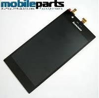 Оригинальный дисплей (модуль) + сенсор (тачскрин) для Lenovo K900 (Черный)
